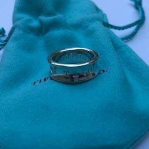 Authentic TIFFANY&Co 1837 Ring size US 4.5